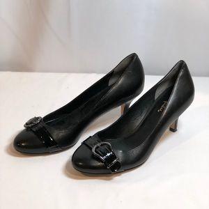 EUC Cole Haan Black Nike Air Dress Pumps Size 8AA